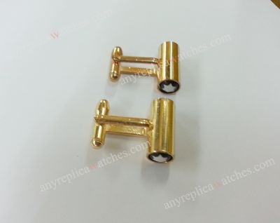 Yellow Gold MontBlanc Cuff links