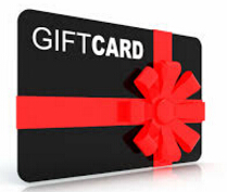Buy Gift Certificate Coupon $10.00 / $25.00 /$50.00 / $100.00
