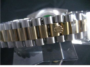 Replacement 2-Tone President Watch Bracelet